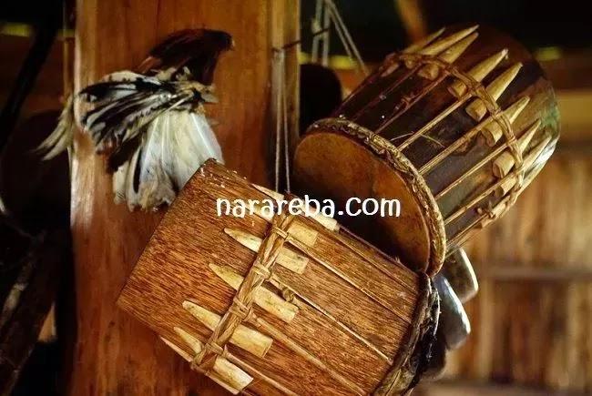 Gong dan Gendang - Alat musik tradisional Manggarai