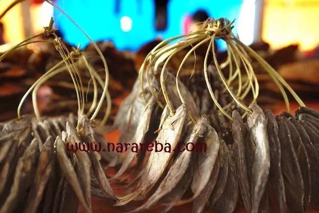 Ikan Asin khas Manggarai - Flores: Ikan Cara